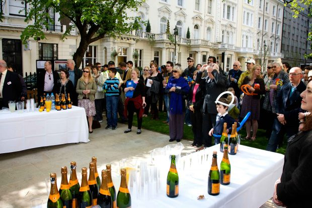 Opening of talbot square ceremony paddingtonnow for 10 eastbourne terrace london w2 6lg