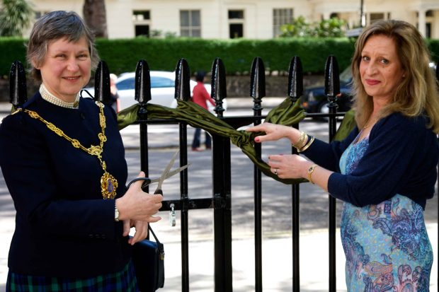 Mayor and maxine cutting ribbon talbot square paddingtonnow for 10 eastbourne terrace london w2 6lg