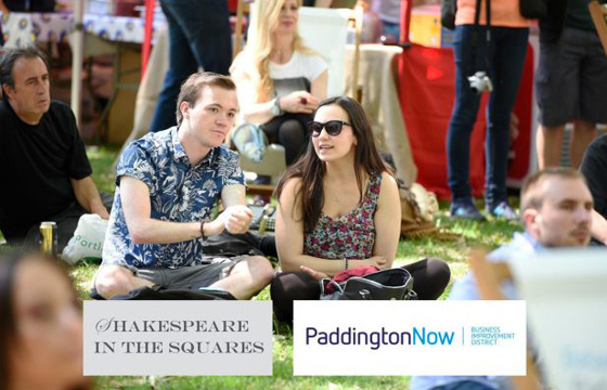 Shakespeare comes to Norfolk Square