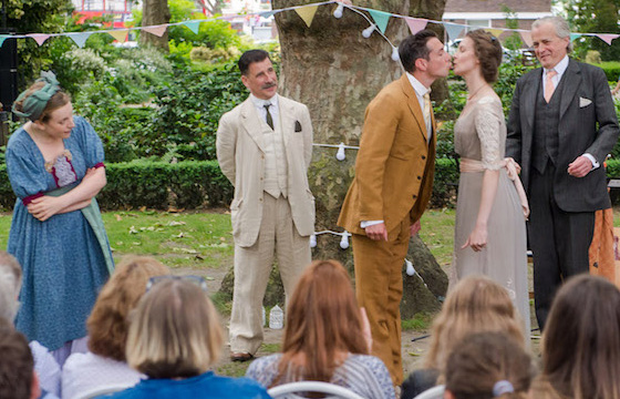 Much Ado About Nothing in Norfolk Square Gardens