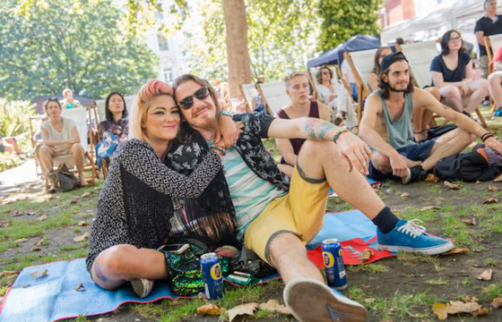 Thousands Flock To Free Music Festival Fridays In Paddington