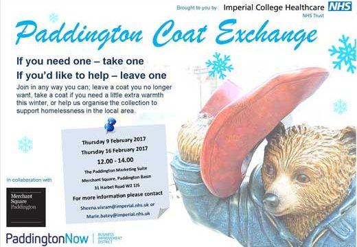 Paddington Coat Exchange February 2017