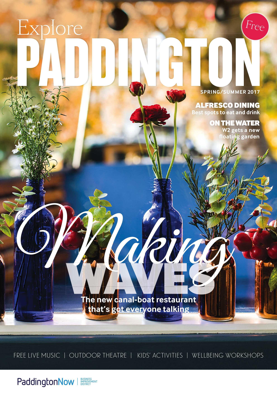 Explore Paddington Spring Summer 2017 Cover