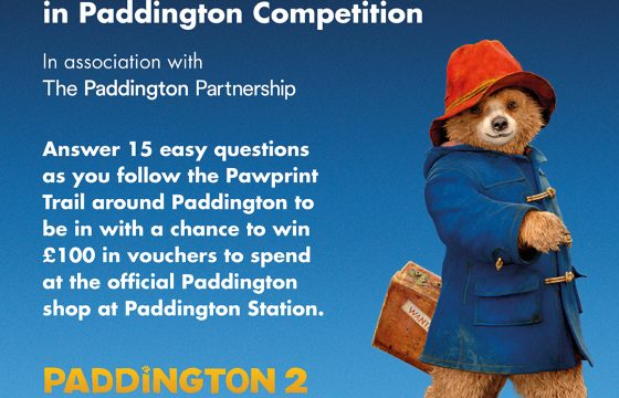 Paddington Competition – Win £100 this Half Term – Offer Ends Feb 23