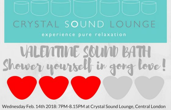 Valentine's Day at the Crystal Sound Lounge