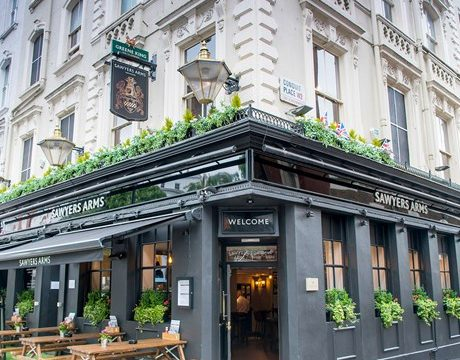 A Pub Classic and a Pint for £11 at the Sawyers Arms