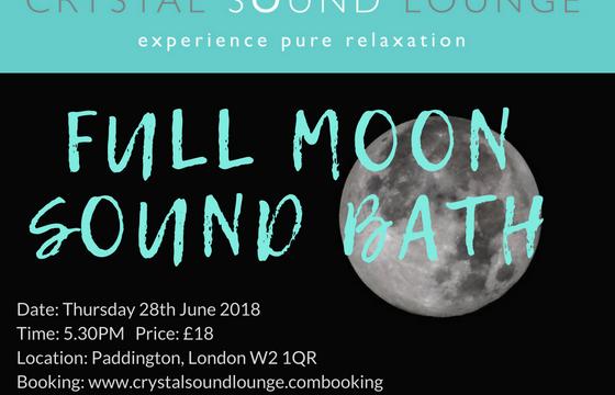 Full Moon Soundbath