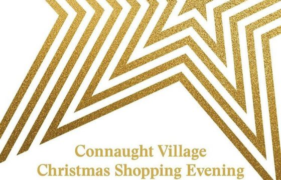 Connaught Village Christmas Shopping Evening