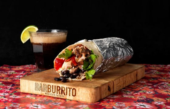 Barburrito 10% Off Food, 30% Off Alcohol, 7 Days a Week