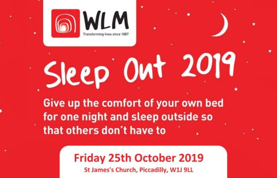 Support West London Mission Sleep Out 2019