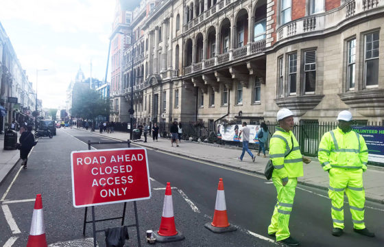 Praed Street Road Closure in September