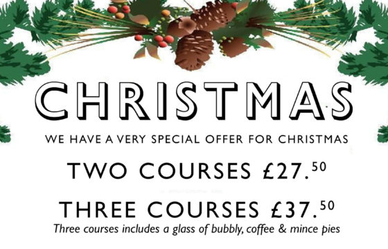 Christmas at the Cork and Bottle