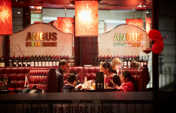 All You Can Eat Chicken Bites and Free Bellini's at Angus Steakhouse