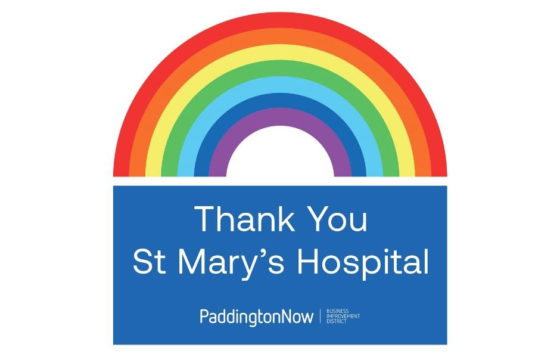 Thank you St Mary's Hospital