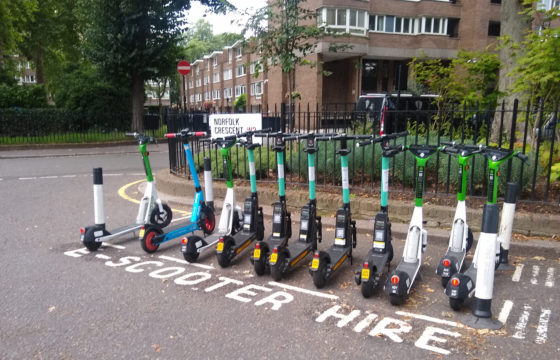 Westminster E-Scooter Trials