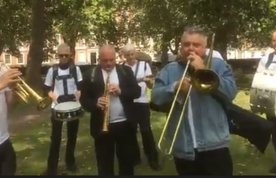 New Orleans Jazz Band in Norfolk Square Gardens