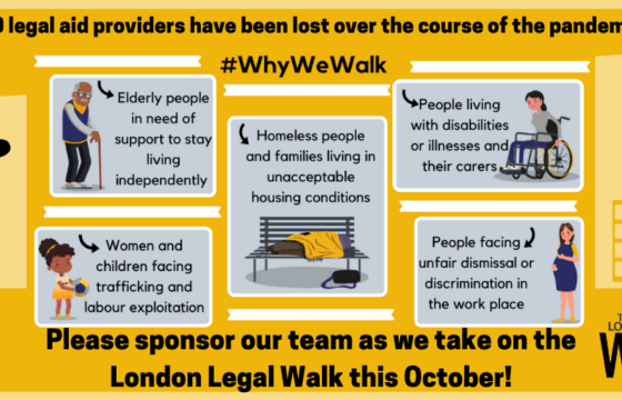 Join CAB on the London Legal Walk